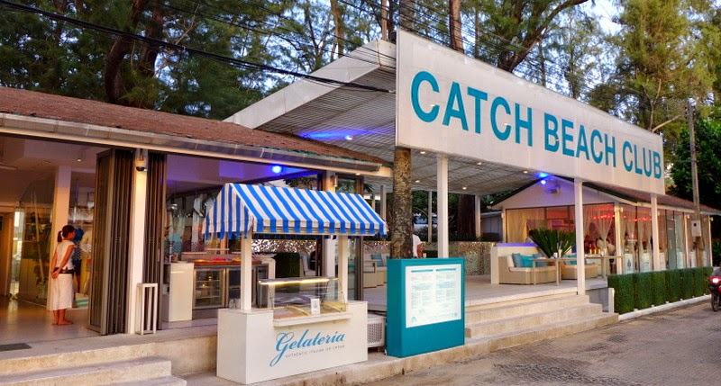 Catch Beach Club, Twinpalms, Surin Beach, Phuket