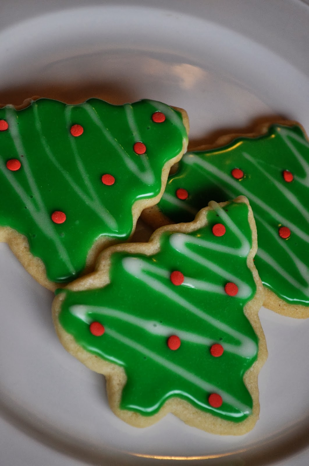 Our Italian Kitchen Christmas Sugar Cookies With Glaze Icing