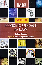 toko buku rahma: buku ECONOMIC APPROACH TO LAW, pengarang fajar sugianto, penerbit kencana