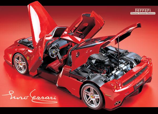 Sports Cars Ferrari Enzo Interior