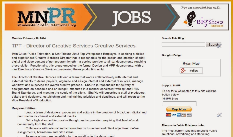 MNPR Jobs