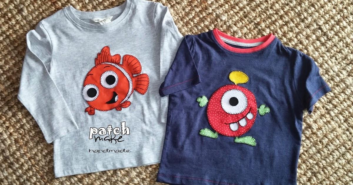 Camisetas infantiles patchmake dise o original y piezas for Diseno piezas infantiles