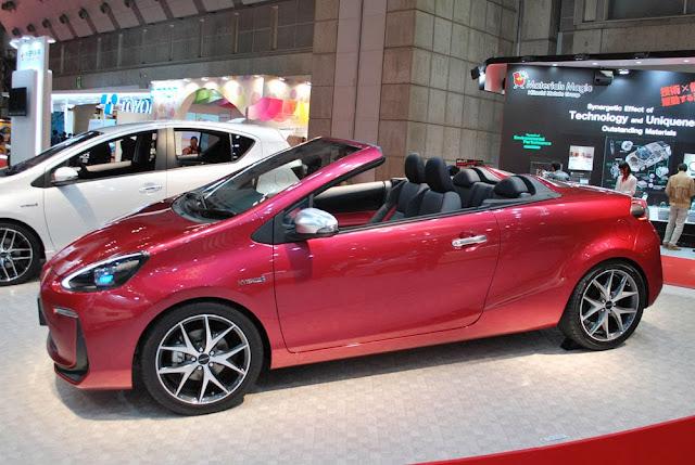 Toyota Aqua Convertible Concept