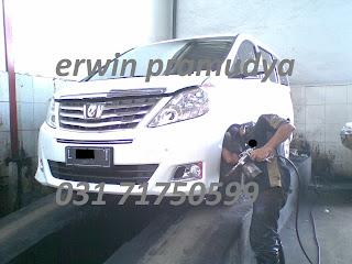 Toyota Alphard Paket Anti Karat