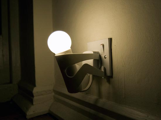 18 creative and cool night lights for Night light design
