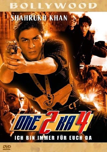 One 2 Ka 4 2001 Hindi DVDRip 480p 450MB