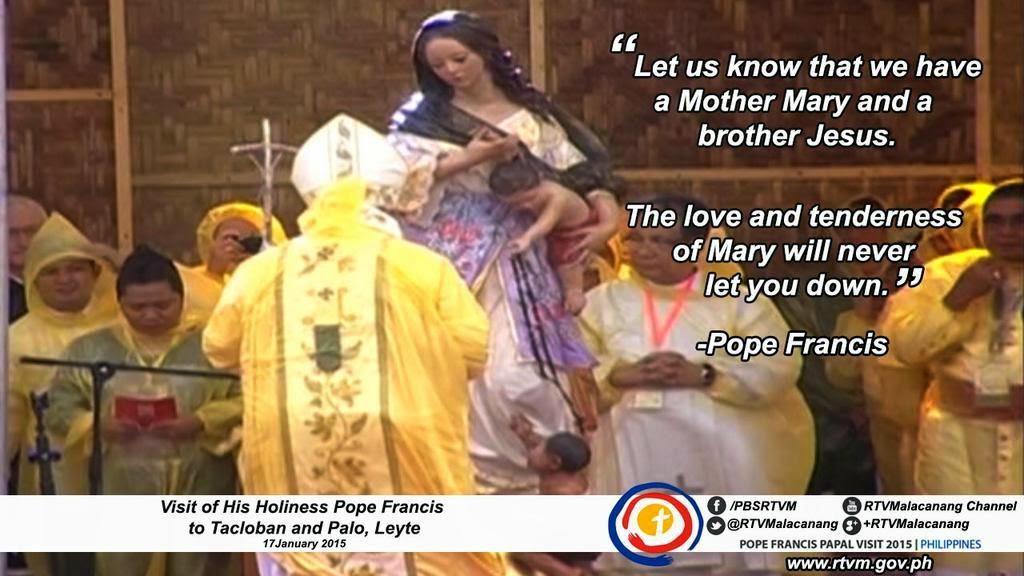 Pope in Tacloban 1