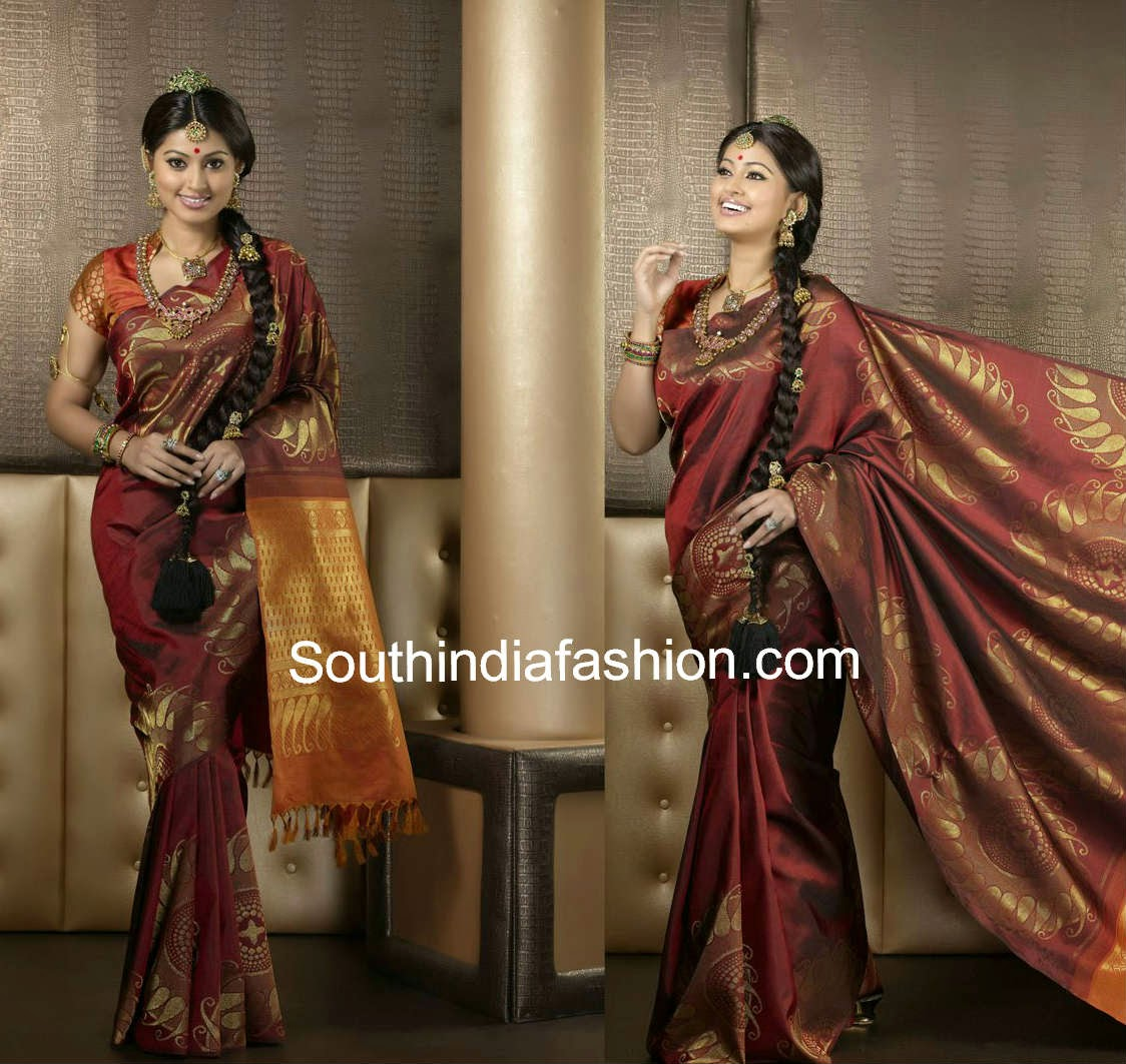 sneha bridal saree