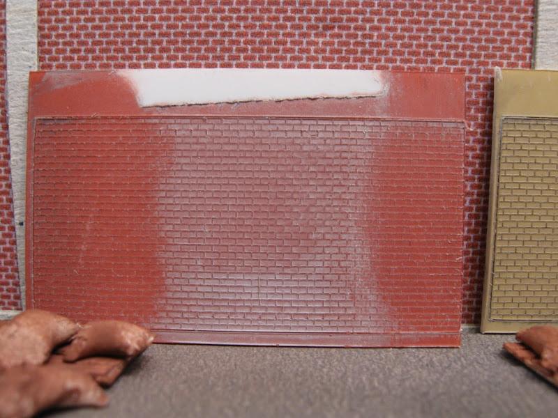 N spoorforum toon onderwerp videologboek van modelbaan - Grijze en rode muur ...