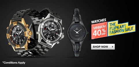 WATCHES - UPTO 40% OFF