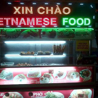 Xin Chào Vietnamese Food Stand