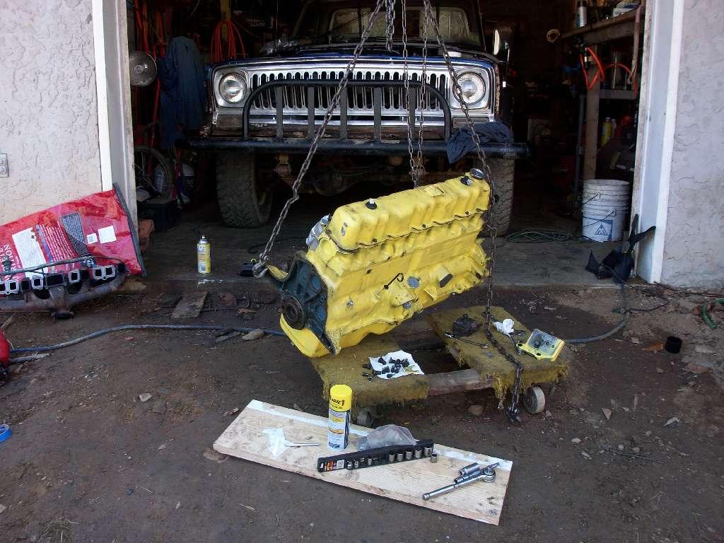 Jeep Motor Rebuilt