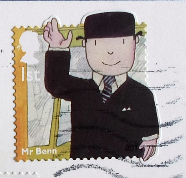 Mail Adventures: British TV Children Characters on Stamps