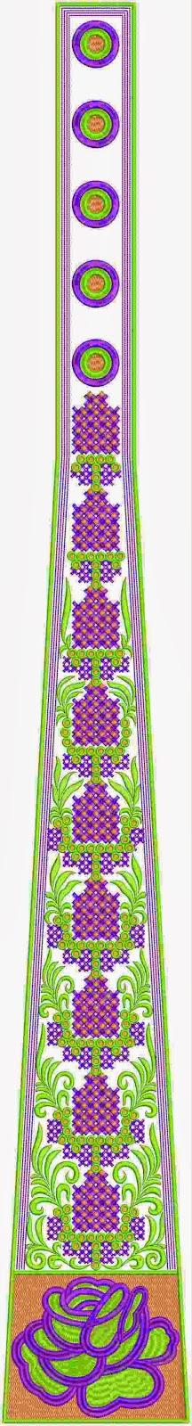 Persiese ornament werk kali appliekwerk