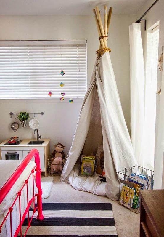 Moon To Moon: Childrens Room Inspiration: Teepee Denu0027s