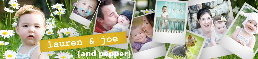 Joe and Lolo  {and Pepper}