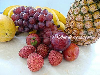 As safras das frutas