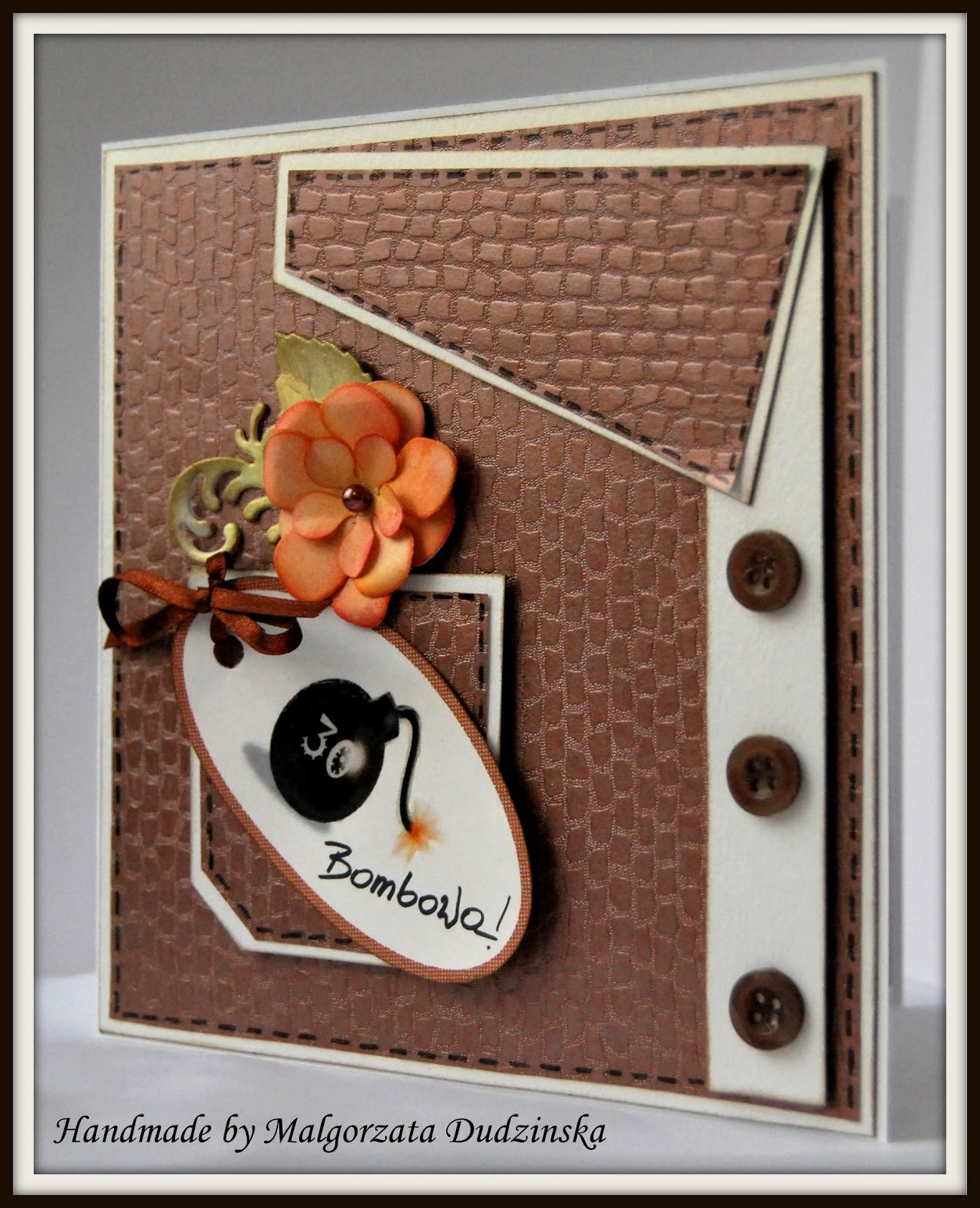 Good Moments Funny Birthday Card Ͽ�mieszna Kartka Urodzinowa: Margot Craft Corner: Bombowa 30