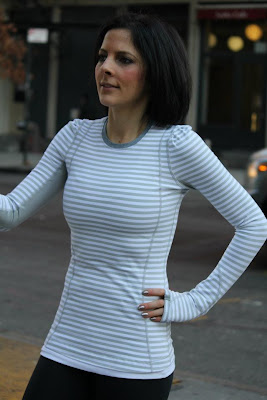 lululemon back on track longsleeve top