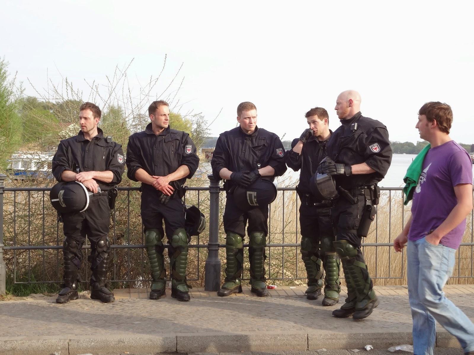 Polizei Werder Baumblütenfest