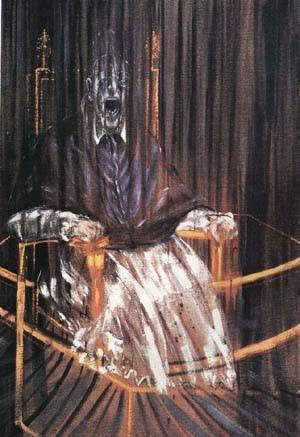 steven a cohen's screaming pope painting by francis bacon