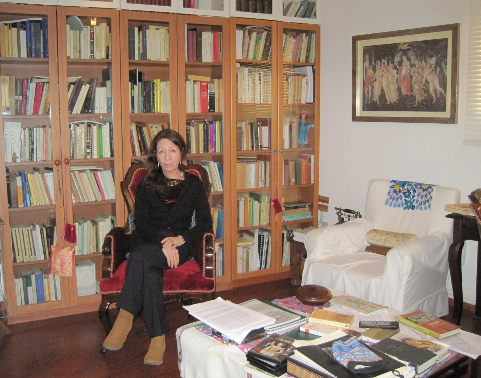 En mi biblioteca