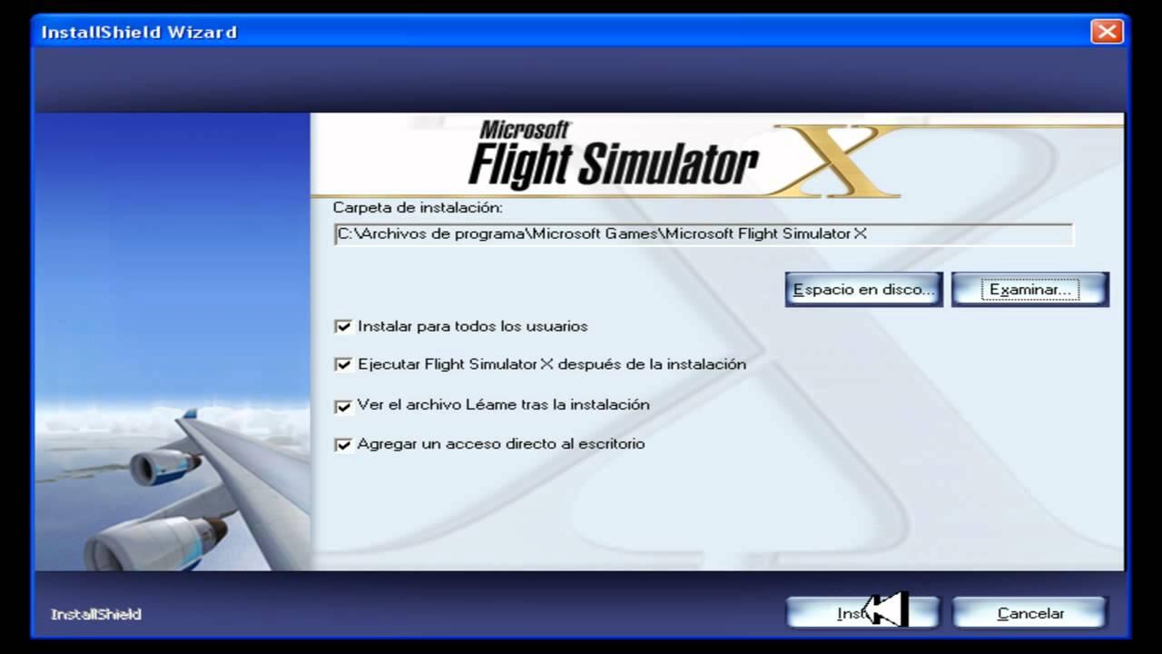 Instalação-FSX