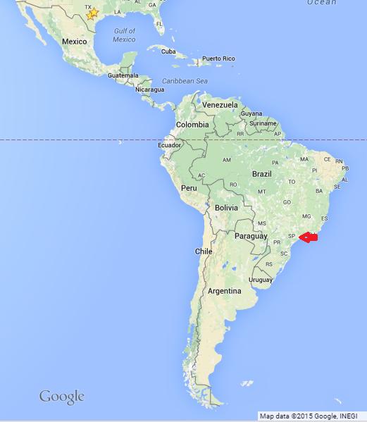 Brazil São Paulo Mission Location