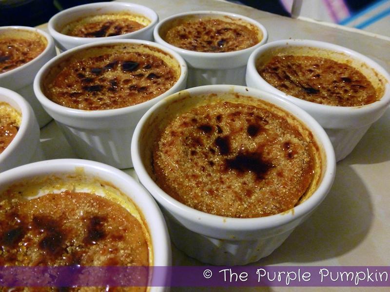 Halloween 2011 – Pumpkin Pie Crème Brûlée