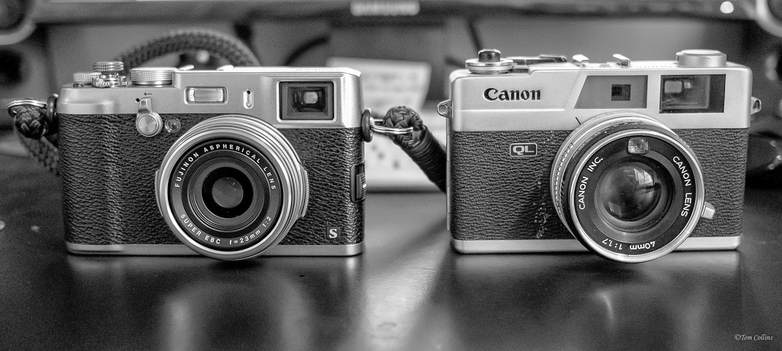 My Fuji X100s and My 45 Year Old Canon QL17 ~ Photography Gone Full Circle