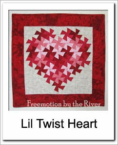 Lil Twister Heart Free Tutorial at Freemotion by the River