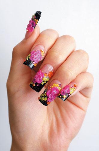 kristine nail art design