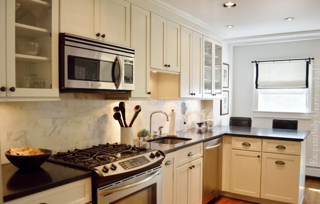 Sneak peek a friendly beach cottage exquisitely for Galley kitchen with breakfast bar