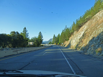 I-5 North of Redding