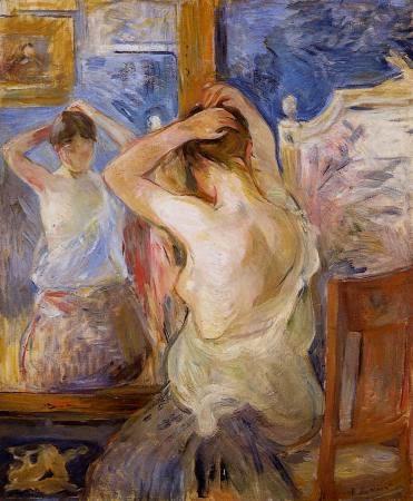 inaintea-oglinzii-berthe-morisot-1890