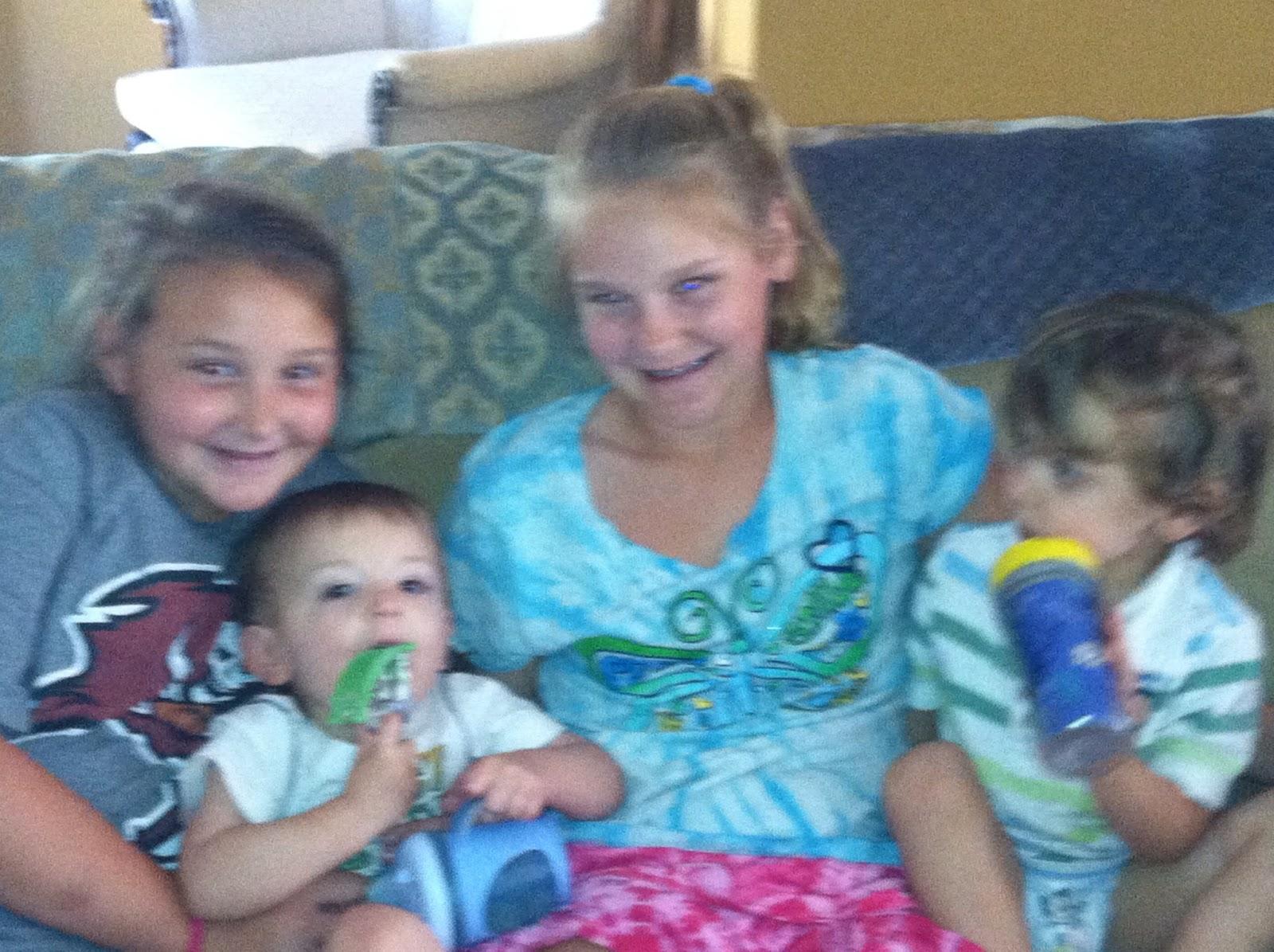 busygirls  first paid babysitting job