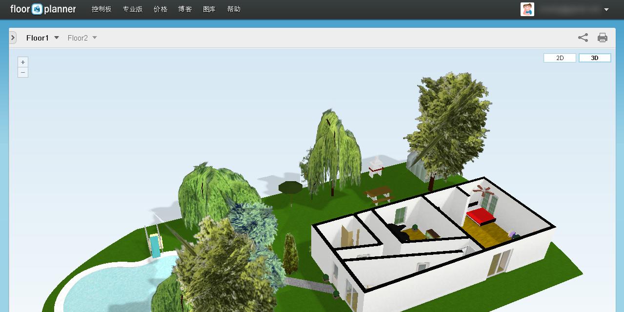 用這款免費室內設計軟體,畫出設計師般精美設計圖