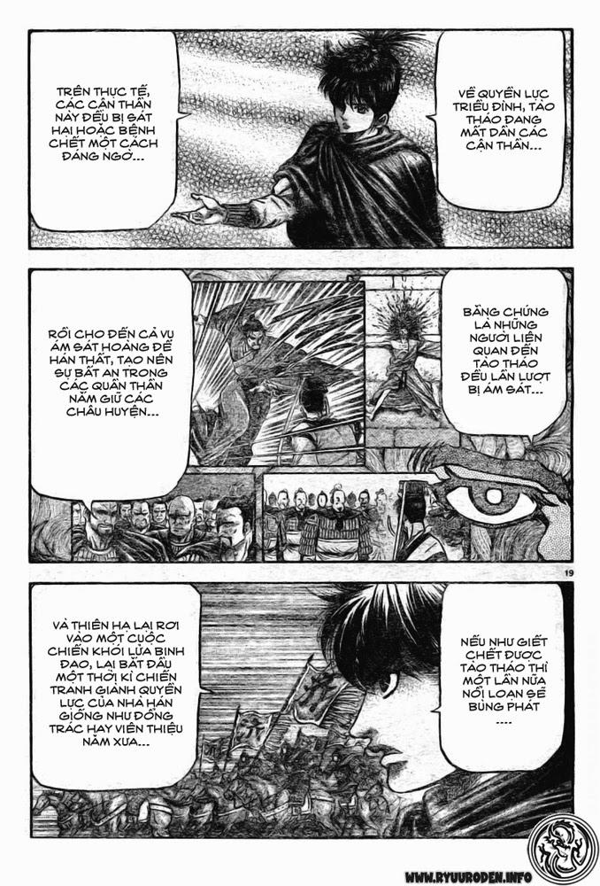 Chú Bé Rồng - Ryuuroden chap 173 - Trang 19