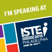 Speaking at ISTE 2015
