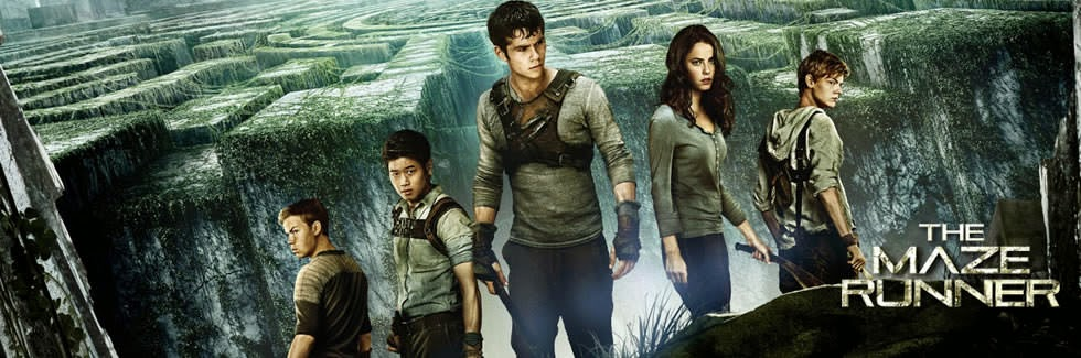 Poster wide Screener The Maze Runner