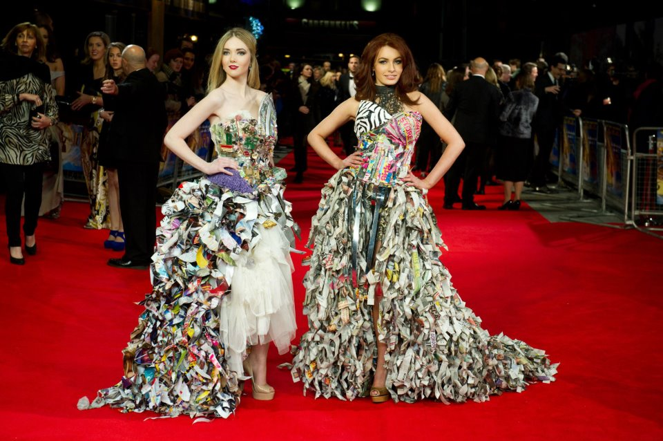 Fashion designers using recycled materials 22