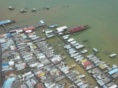 Kampung Atas Laut Bontang Kuala