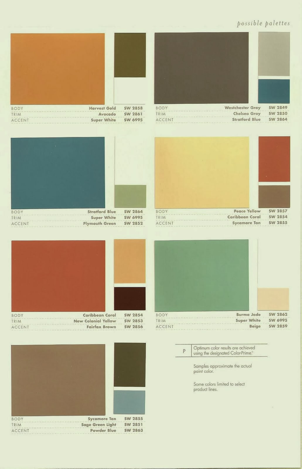 Mid Century Mrs Exterior Colors Part 2