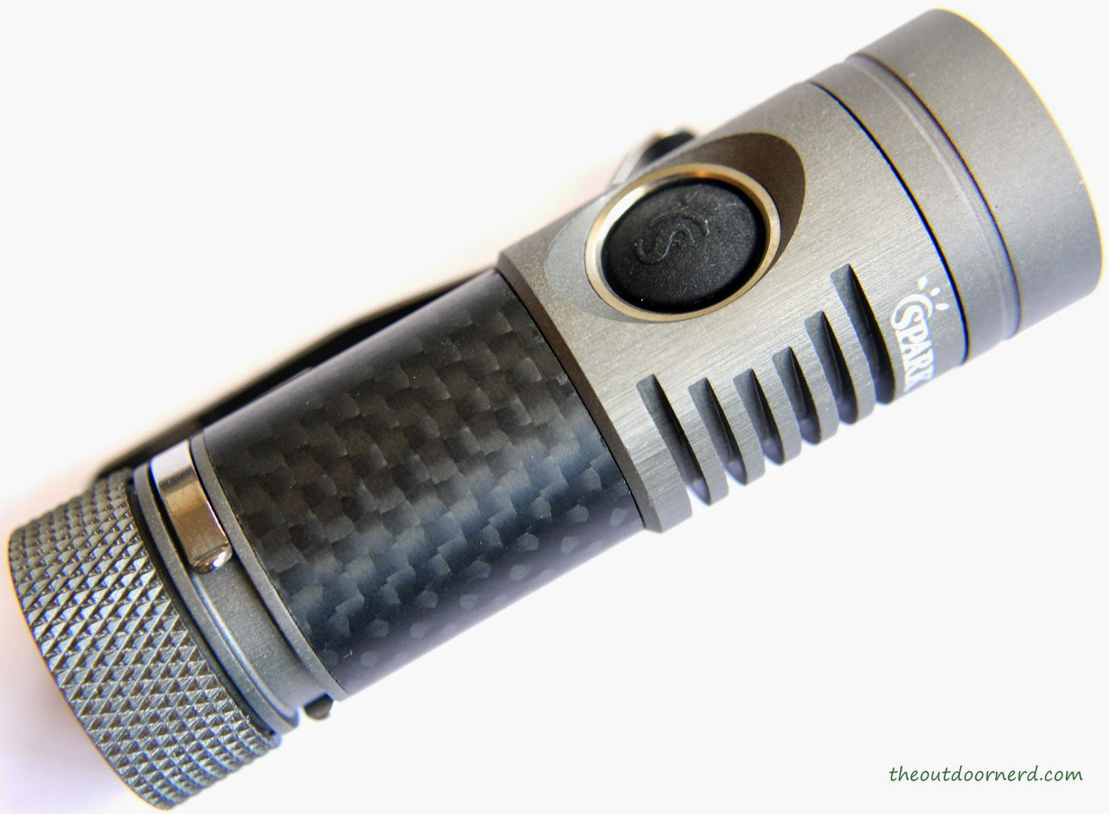 Spark SF3 1xCR123A Flashlight Product View 2