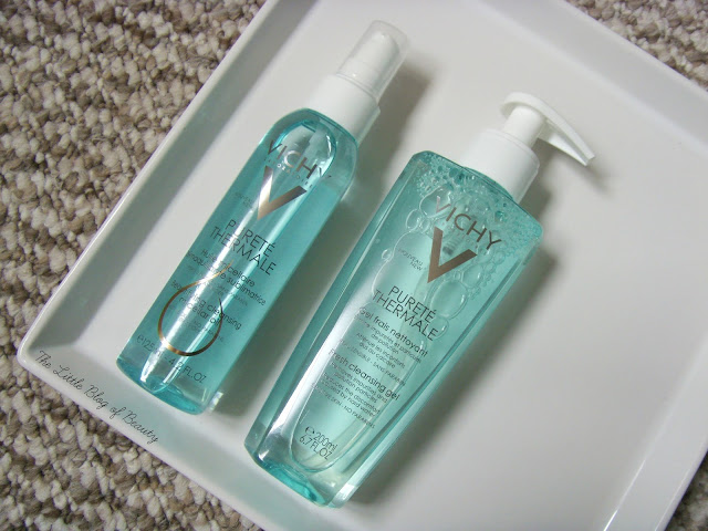 Vichy Purete Thermale Beautifying cleansing micellar oil and Fresh cleansing gel