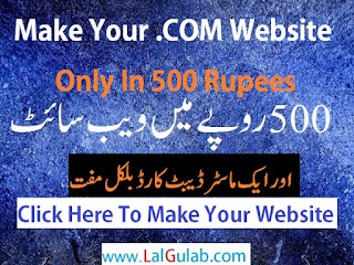 Your Own Website In 500 Rupees