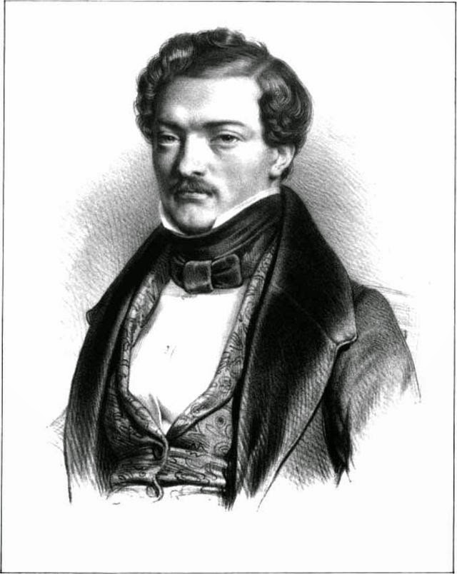 Gilbert Duprez, the first Polyeucte in Donizetti's Les Martyrs