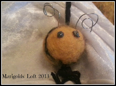 4KCBWEC Felted Bee Tutorial