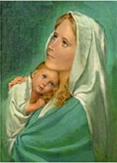 Mit der Immaculata