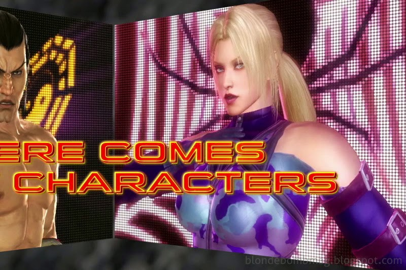 Tekken Character Model Nina New